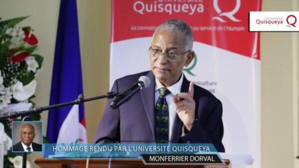 Discours poignant de Jacky Lumarque à une cérémonie d'hommage à Monferrier Dorval