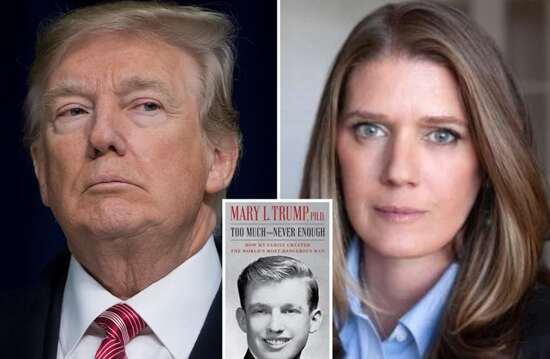 Un million d'exemplaires écoulés en un jour, le livre de la nièce de Trump est un véritable carton