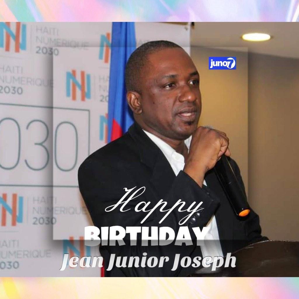 16 novembre : Anniversaire de naissance de Jean Junior Joseph