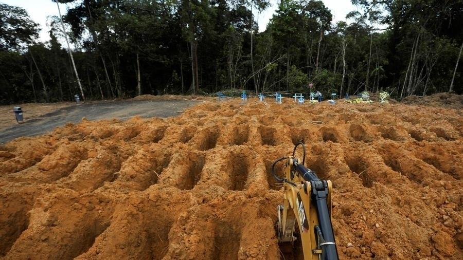 Covid-19: hôpitaux et cimetières saturés au Brésil