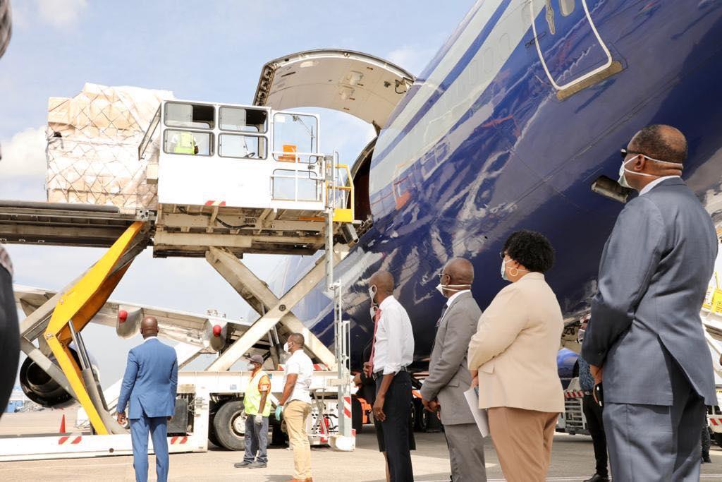 Haïti reçoit un premier lot de matériels médicaux commandés en Chine