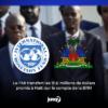 Le FMI transfert les 111,6 millions de dollars promis à Haïti sur le compte de la BRH