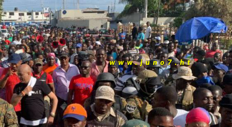 Michel Martelly au Cap-Haïtien