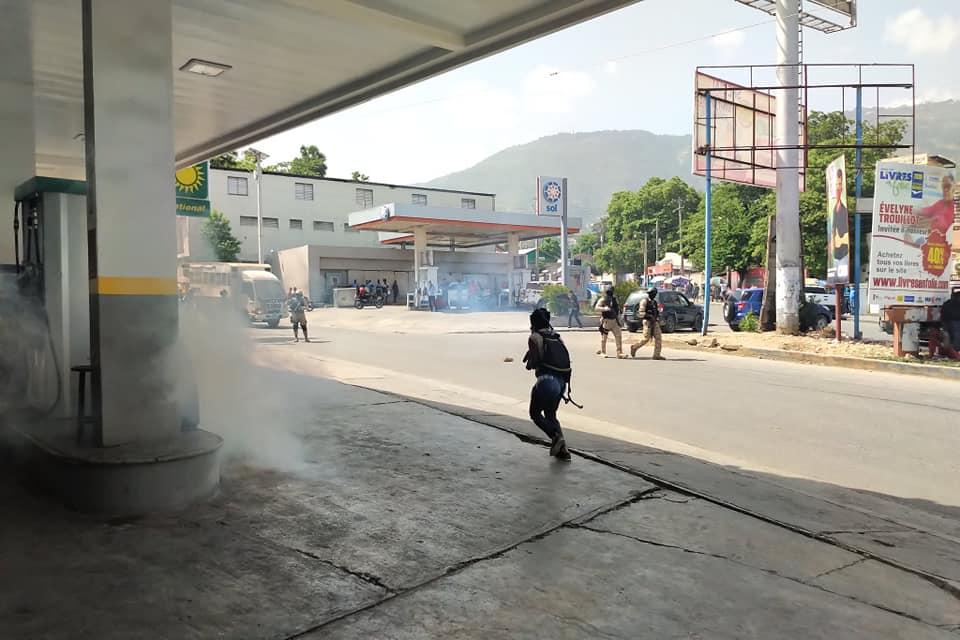 Un sit-in contre l'insécurité dispersé à coup de gaz lacrymogène