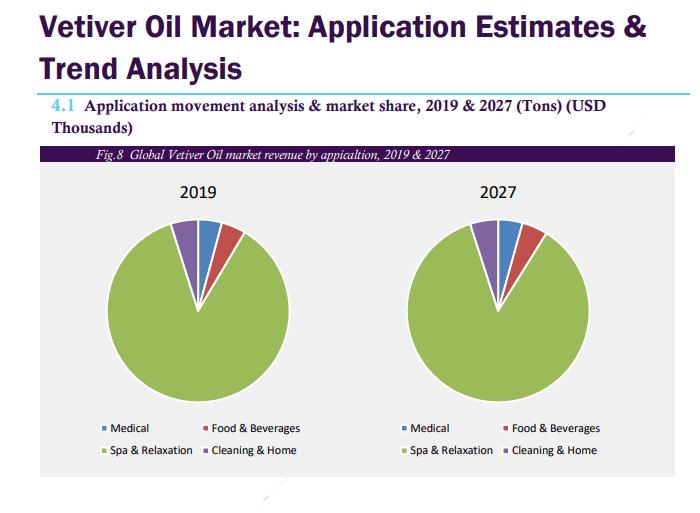 Application movement analysis & market share, 2019 & 2027 (Tons) (USD Thousands)