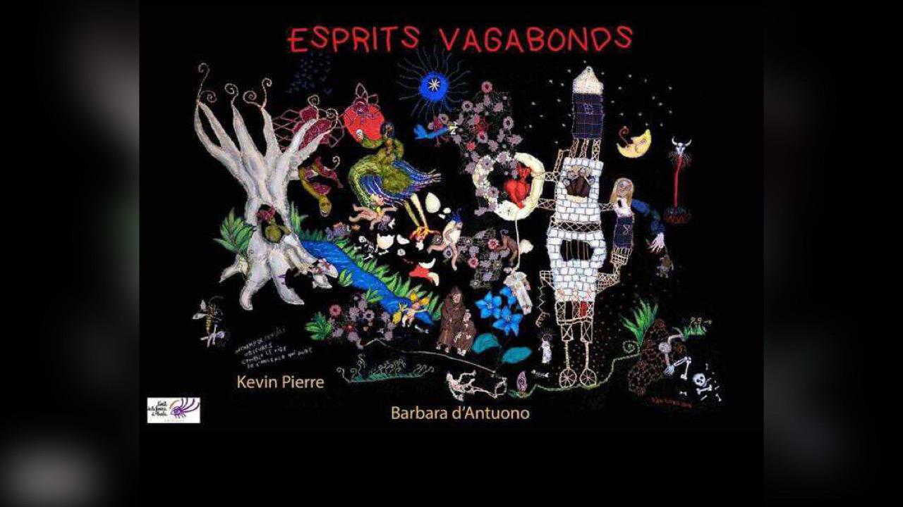 """""""Esprits Vagabonds"""", dezyèm liv Kevin Pierre nan ekspozisyon Lafrans"""