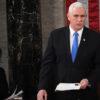 Le vice-président Mike Pence refuse d'invalider les votes de Joe Biden, Trump furieux
