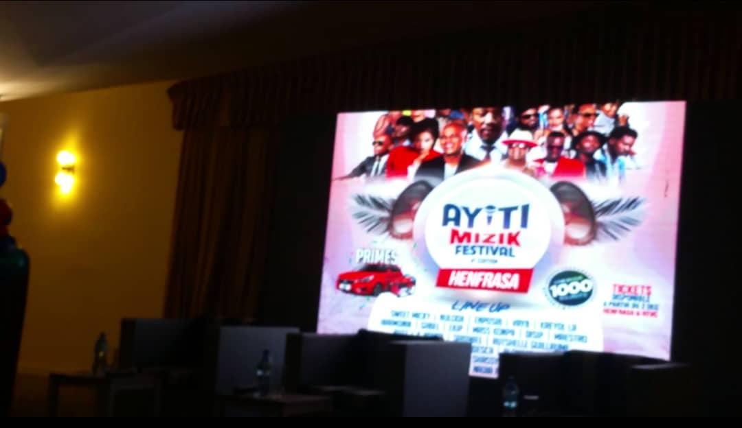 """Òganizatè """" Ayiti Mizik Festival """" yo lanse 4è edisyon an"""