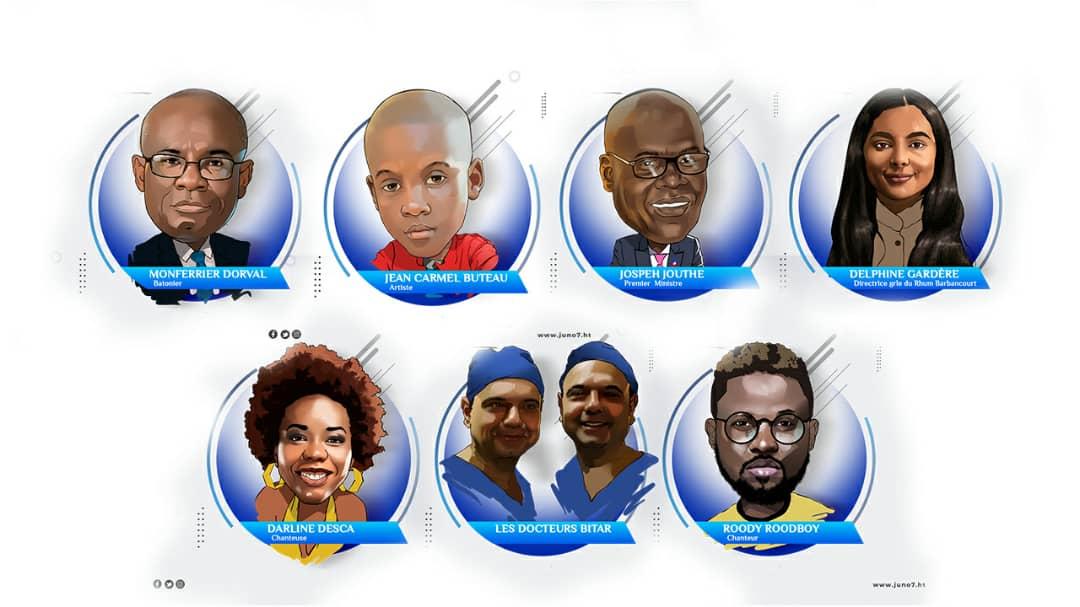 Les 7 personnalités qui ont marqué l'année 2020