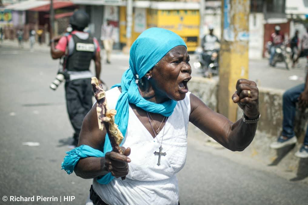 Richard Pierrin, 19 lane, yon jèn espwa fotojounalis an Ayiti