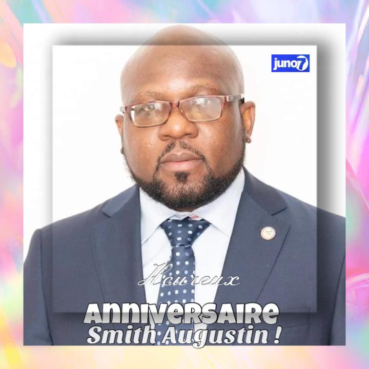 27 Janvier : Anniversaire de Smith Augustin,