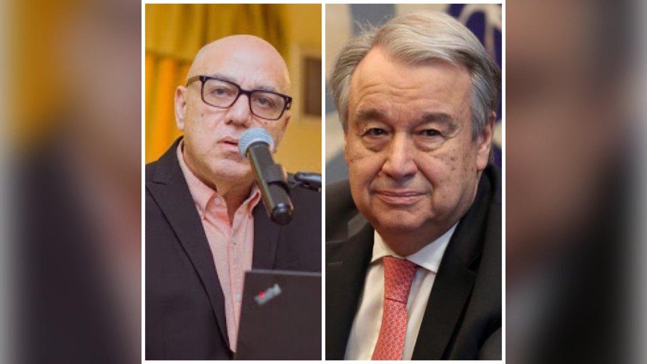 Le président du MTVAyiti, Dr Réginald Boulos écrit au secrétaire général de l'ONU