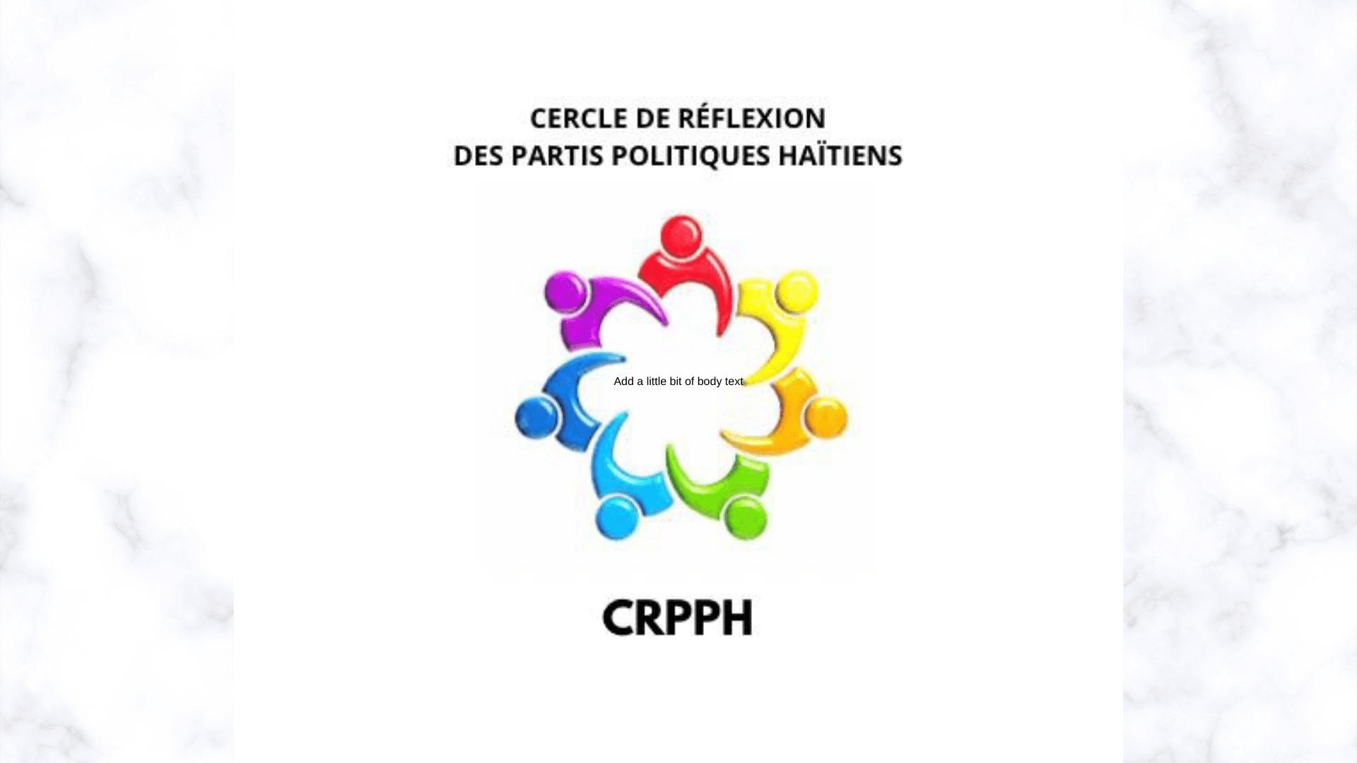 Des partis politiques appellent les protagonistes à éviter toutes solutions antidémocratiques