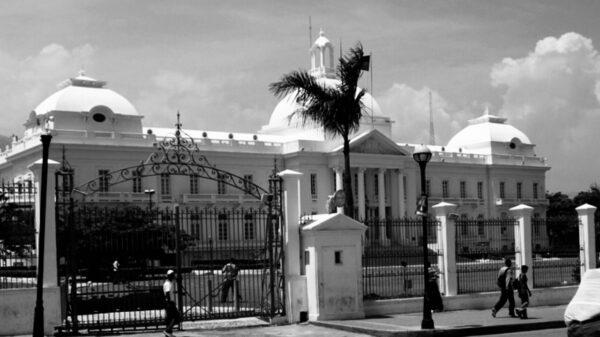 22 Février 1867. Attaque du palais national par des tirailleurs