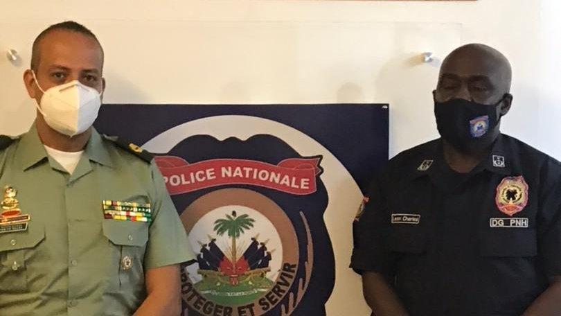 Des policiers colombiens en Haïti pour renforcer la capacité de l'unité anti-enlèvement de la PNH
