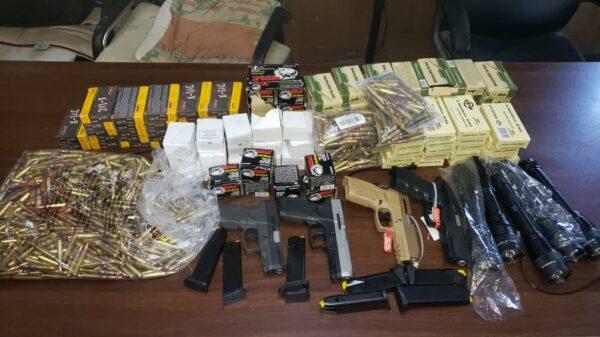 4 armes, 7 chargeurs et plus de 3000 cartouches saisis au Cap-Haïtien