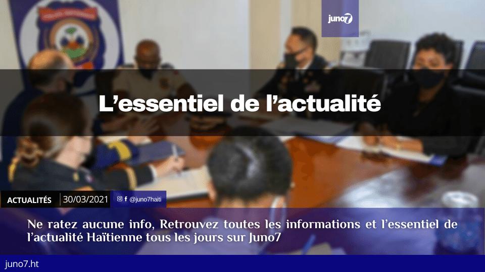 Haiti: L'essentiel de l'actualité du mardi 30 mars 2021