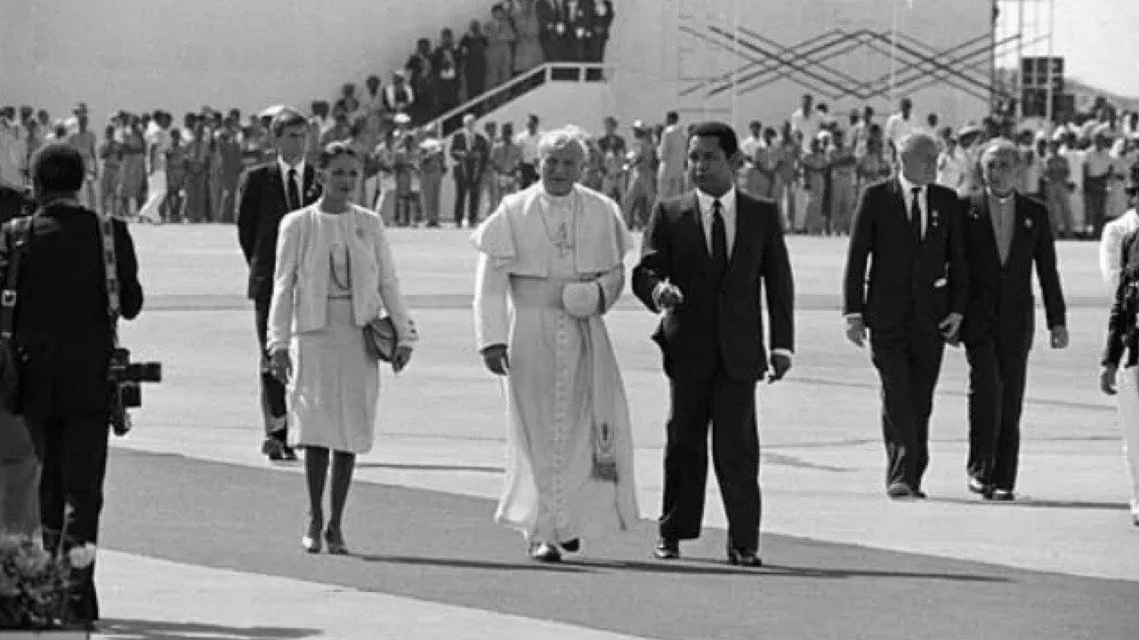 9 Mars 1983: visite du Pape Jean-Paul II en Haïti