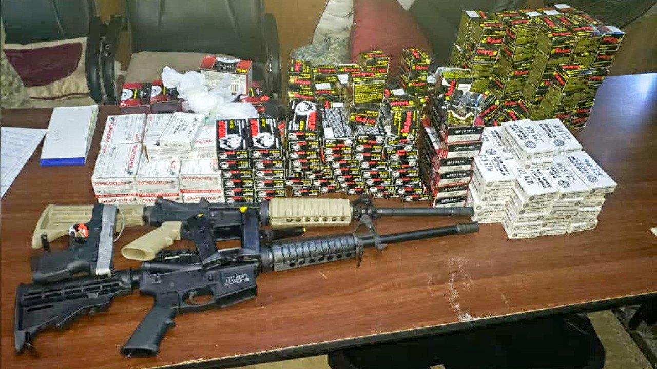 Trois armes à feu et plus de 7000 cartouches saisies à la douane de Cap-Haïtien