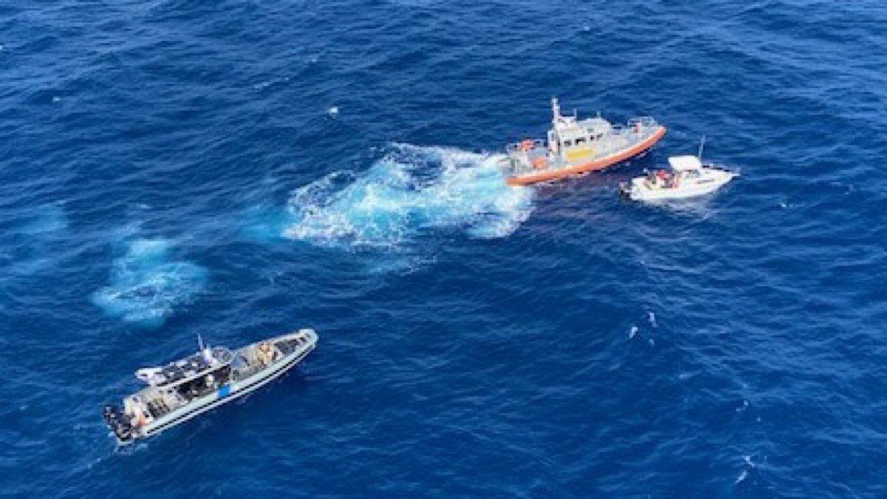 Immigration illégale : 25 Haïtiens secourus par les garde-côtes américains