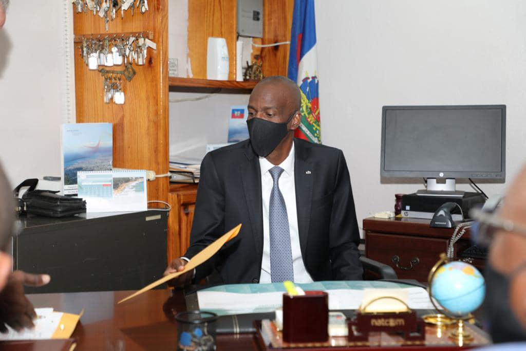 Jovenel Moise sollicite de l'OEA un appui technique pour la PNH