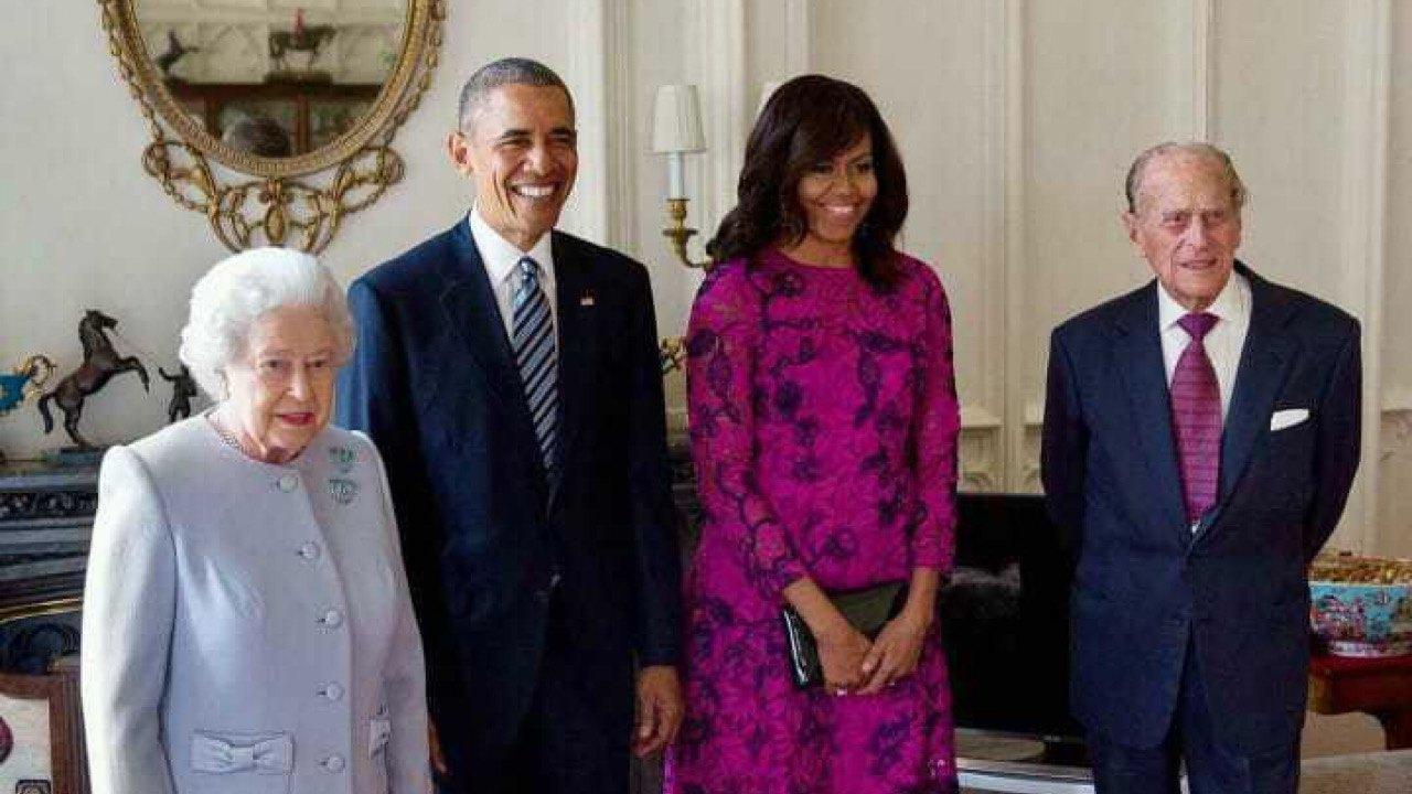 Prens Philip, Obama