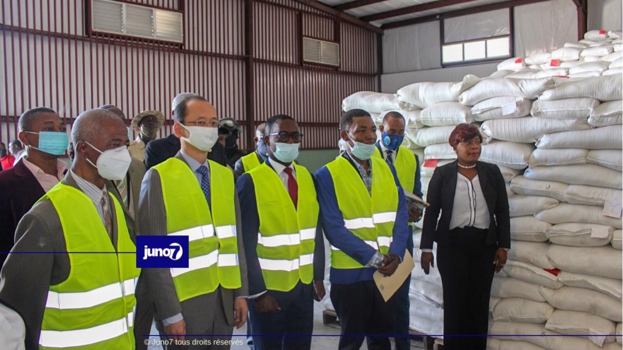 Coopération Nippo-haïtienne: le Japon fait un don de riz estimé à plus de 3 millions de dollars