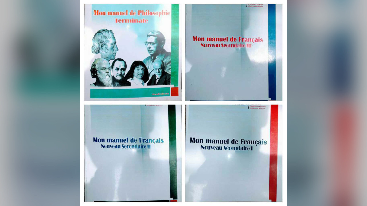 Yon jèn profesè filozofi ekri 3 liv fransè ak yon liv filozofi pou elèv NS yo
