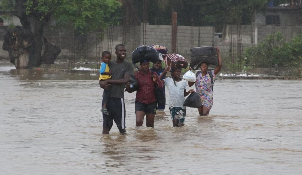 Haïti Intempéries: au moins trois décès et des centaines de sinistrés
