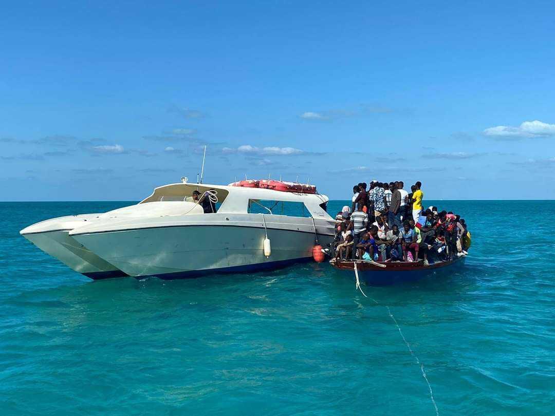 379 Haïtiens interceptés sur 2 bateaux par les autorités des îles Turks and Caicos