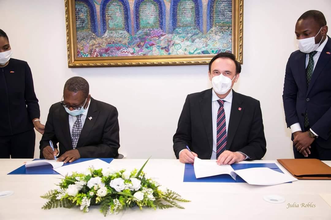 Signature d'un accord de coopération entre Haïti et les universités espagnoles
