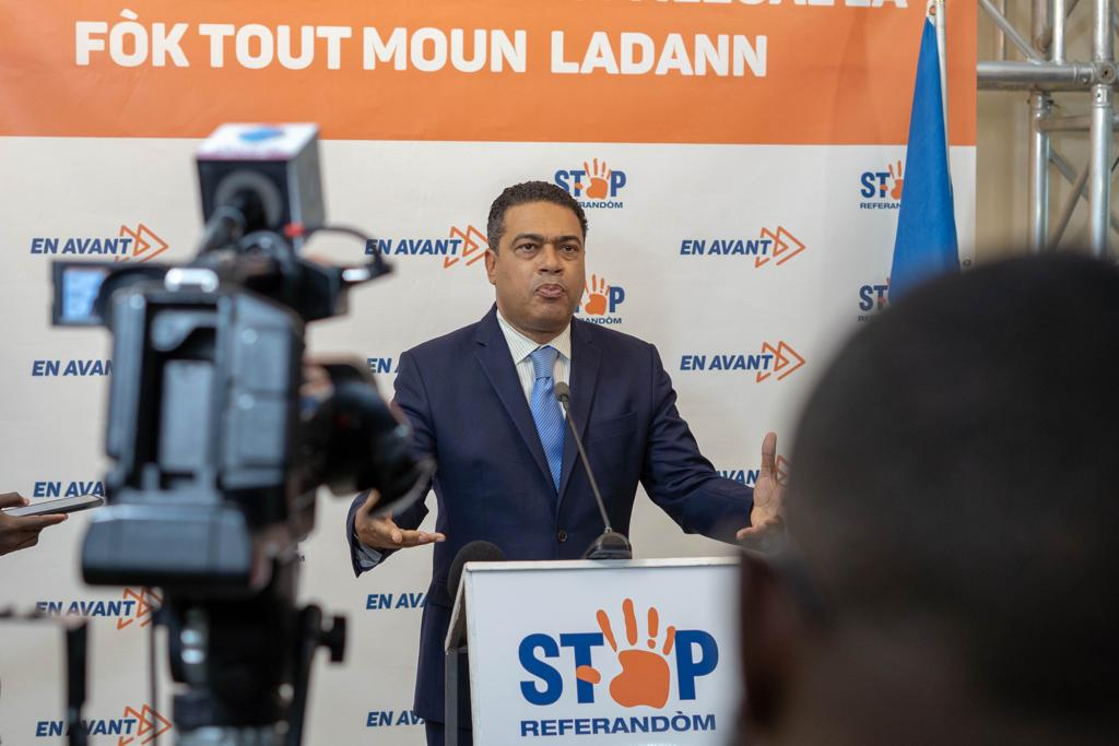 Jerry Tardieu exige l'annulation du référendum de Jovenel Moïse, d'autres ténors emboitent le pas…