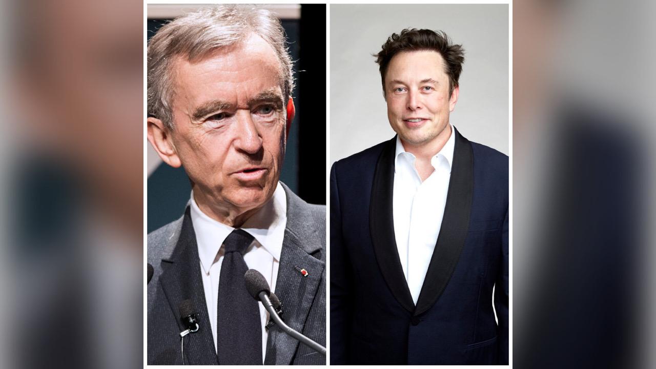 Bernard Arnault deuxième fortune du monde devant Elon Musk