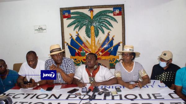 La DIRPOD prend acte de la démission de Joseph Jouthe et appelle à la mobilisation