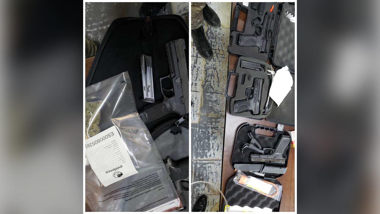Cinq armes à feu et 11 chargeurs saisis à la douane du Cap-Haïtien