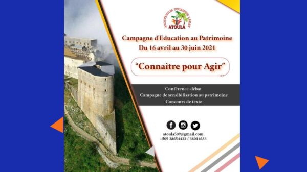 L'Asosiyasyon Touristik Lakay (ATOULA)lance une Campagne d'Education au Patrimoine (1)