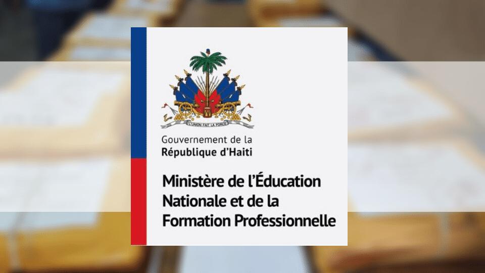 MENFP: Publication des résultats des examens de la session des recalés