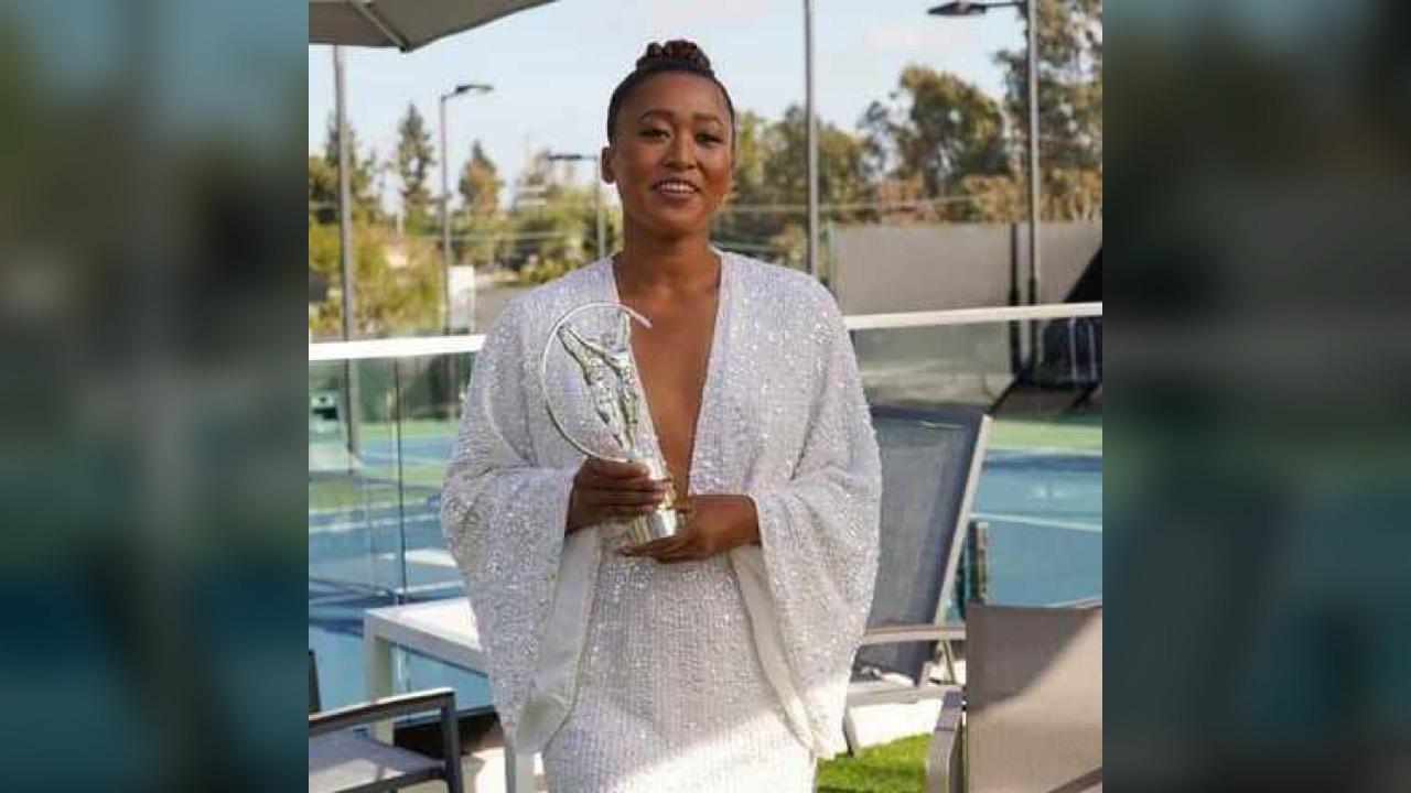 Naomi Osaka nommée athlète féminine de l'année par Laureus