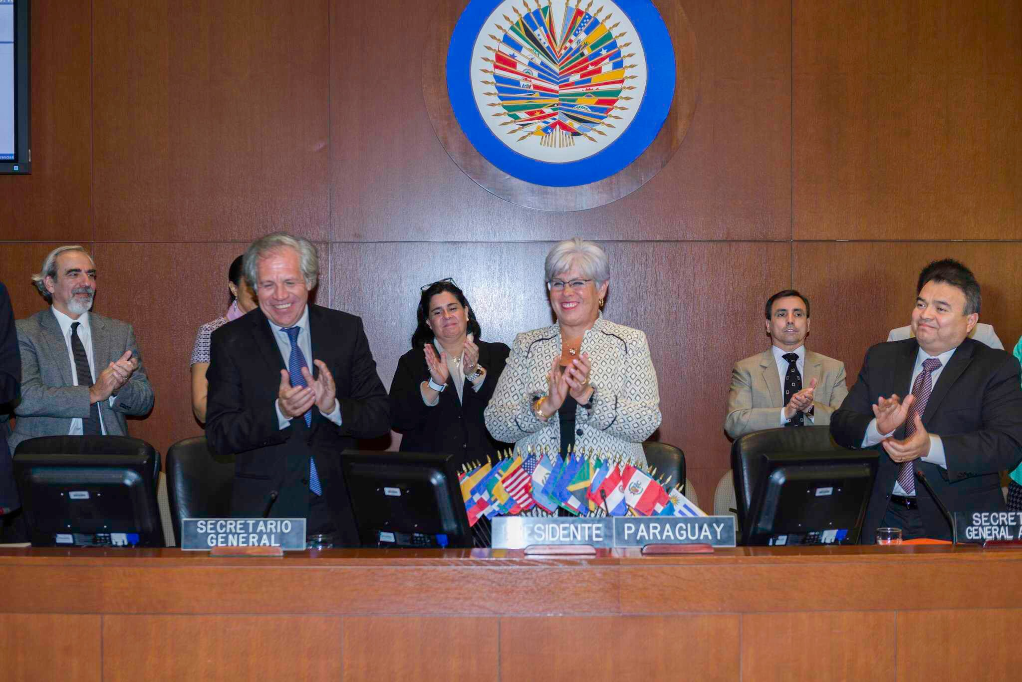 L'OEA pleure le décès de la présidente du Conseil permanent Elisa Ruiz Díaz