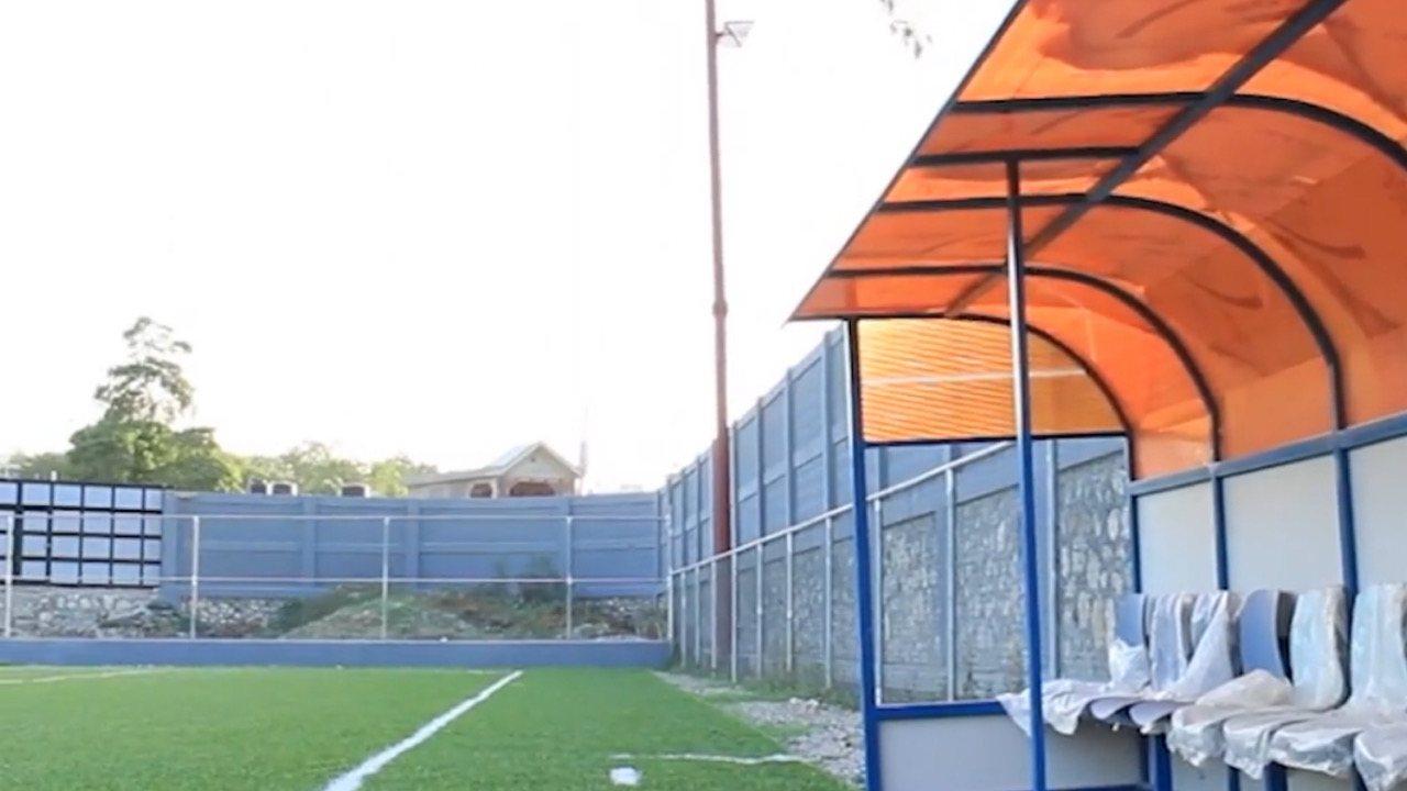Delmas 33: L'ancien député Gary Bodeau a construit un parc multisports