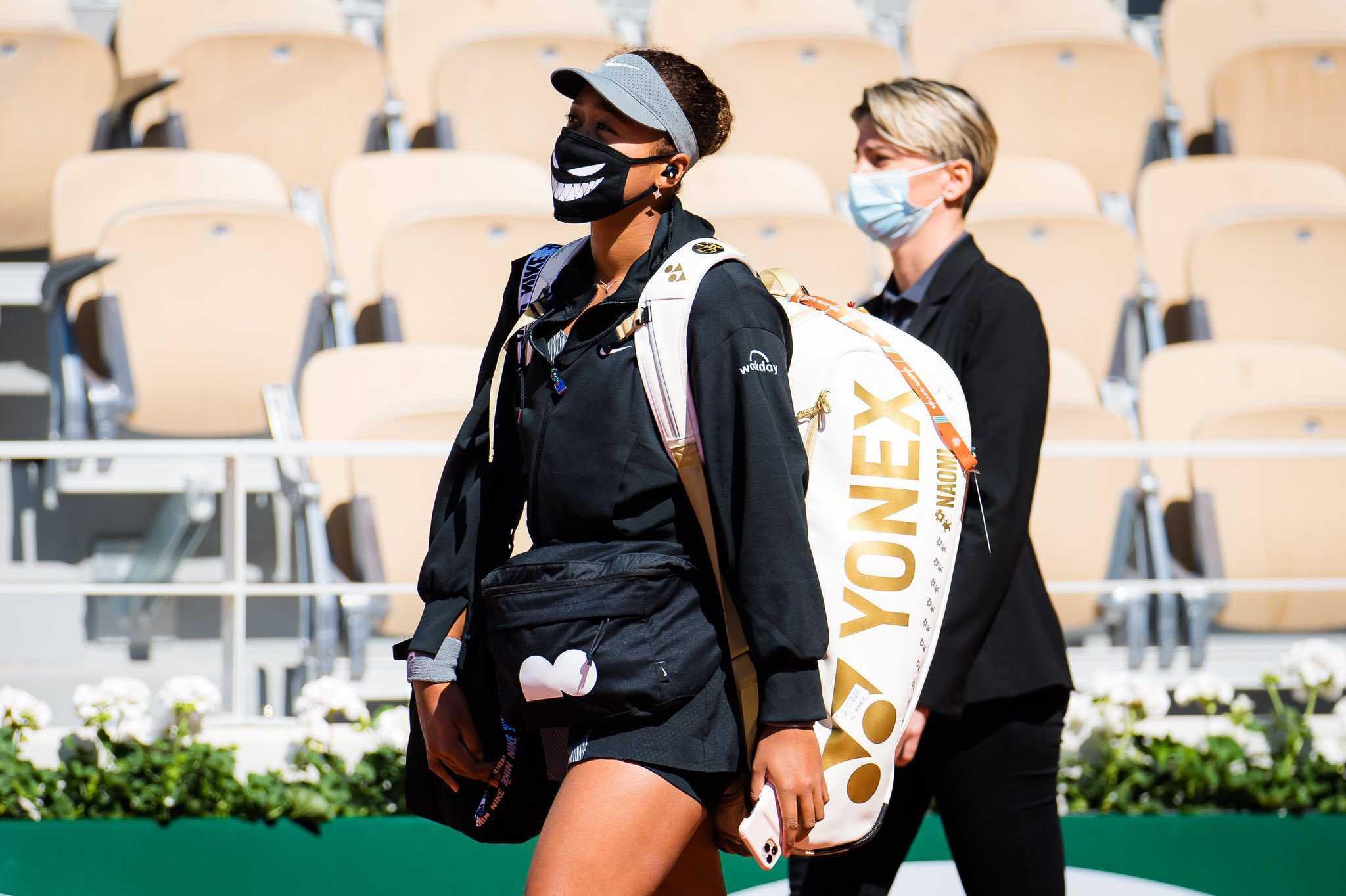 Naomi Osaka quitte Roland Garros