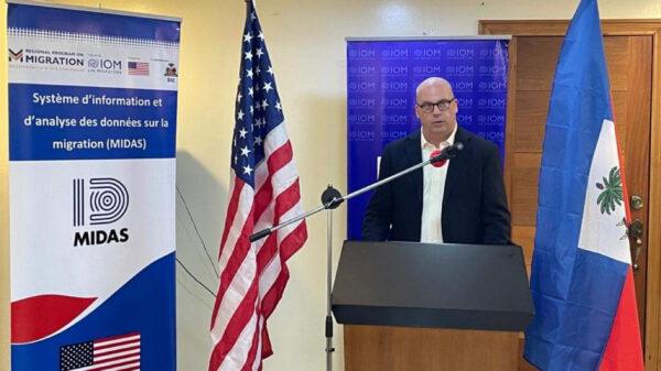 L'OIM et la DIE ont inauguré le système MIDAS à l'Aéroport du Cap-Haïtien et à Ouanaminthe