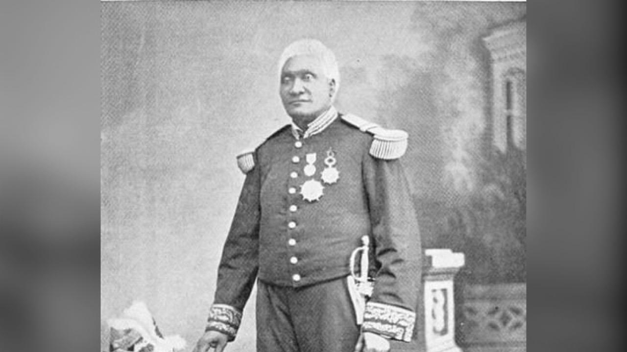 15 Mai 1887: prestation de serment de Lysius F. Salomon pour un second mandat présidentiel