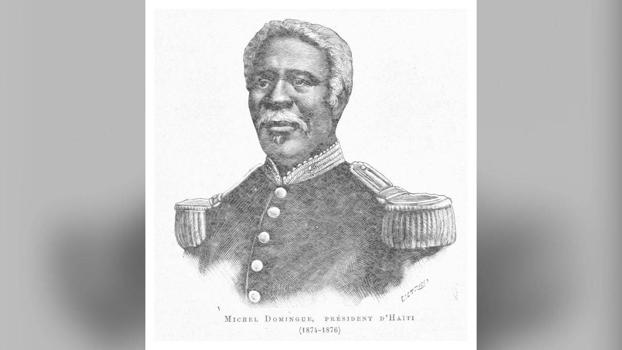 24 Mai 1877: décès du président Michel Domingue à Kingston, Jamaïque
