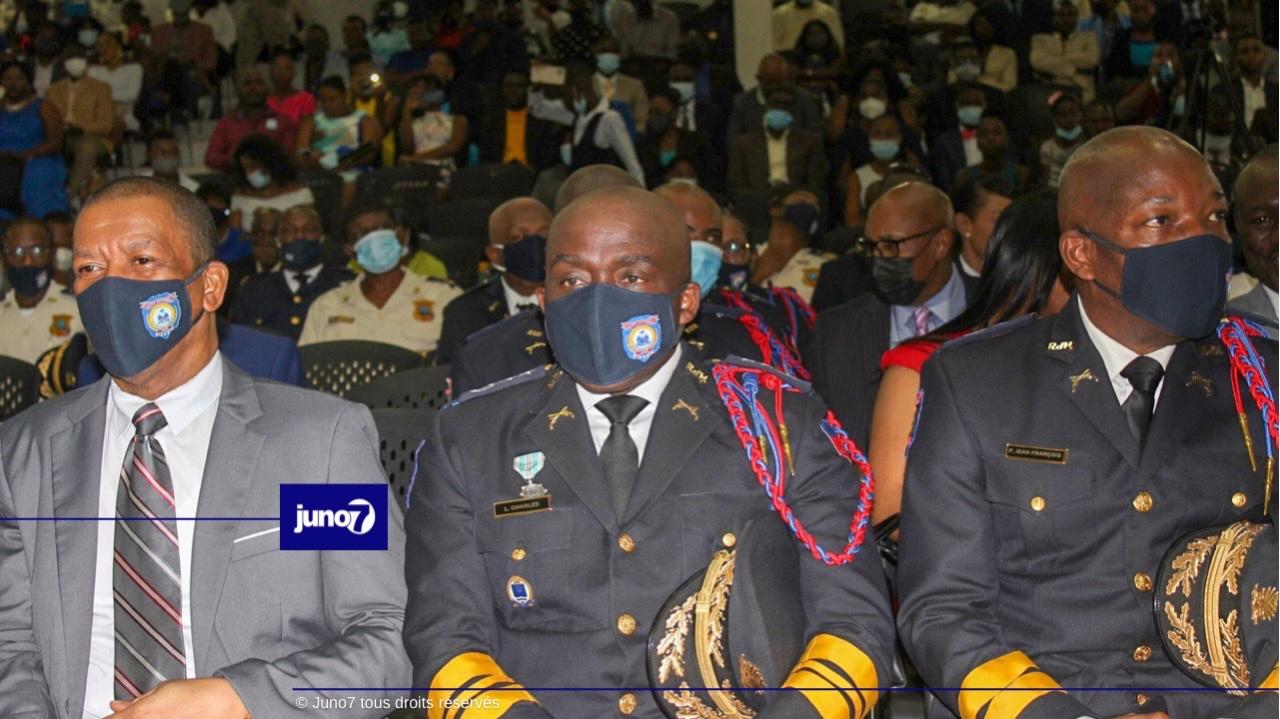 Une troisième cohorte d'insepecteurs élèves sort de l'Académie Nationale de Police
