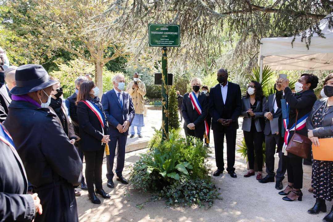 La France rend hommage à Toussaint Louverture