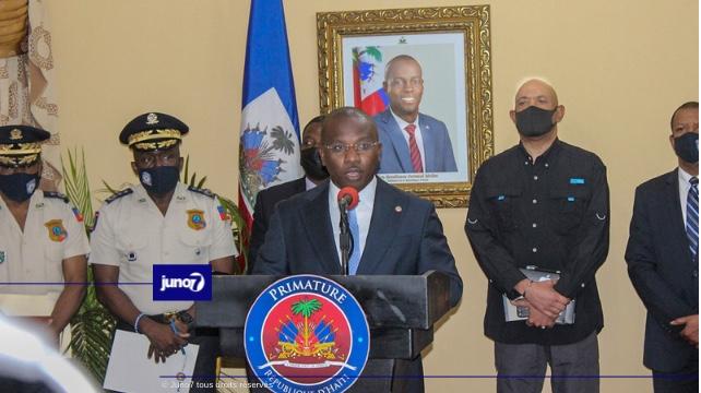 Le premier ministre a.i Claude Joseph annonce des dispositions célères contre l'insécurité