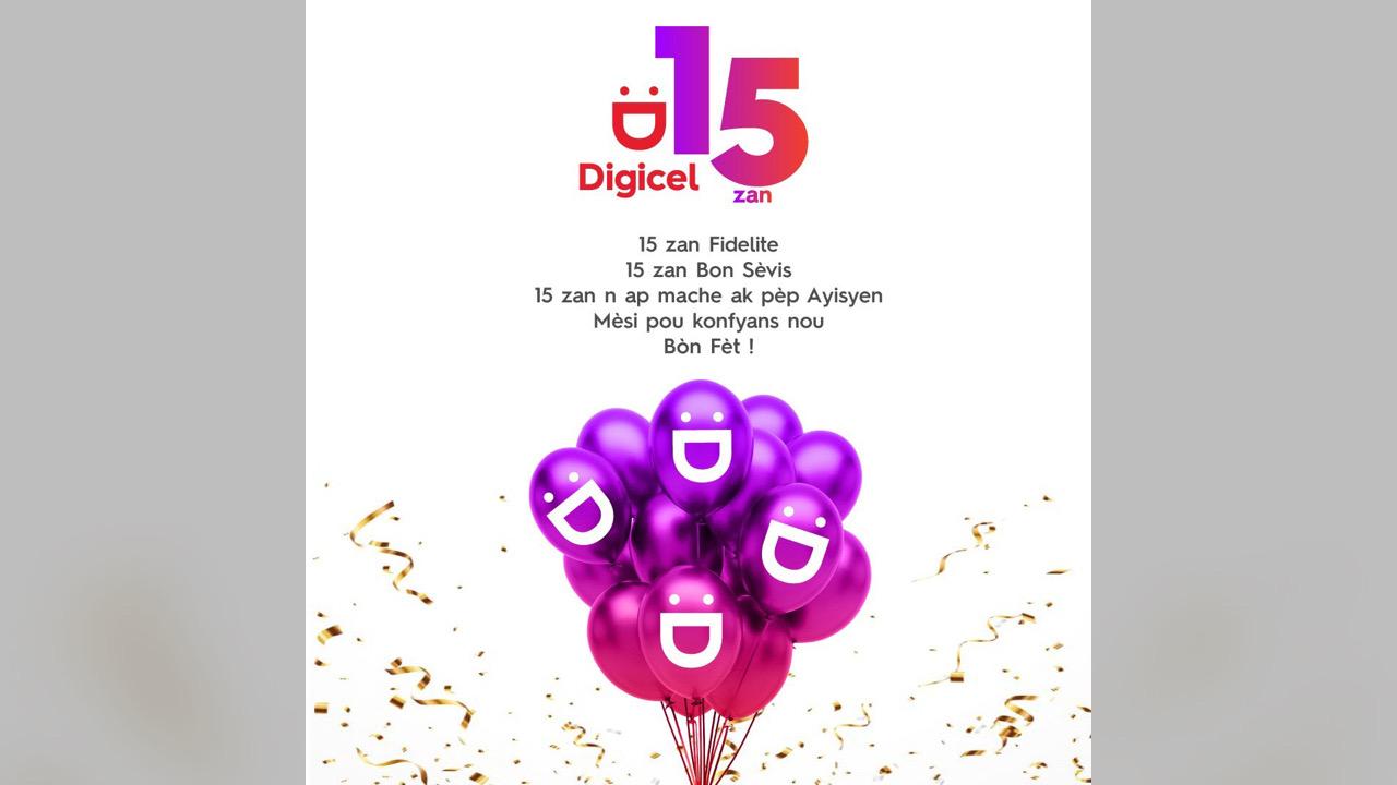 Pour ses 15 ans, la Digicel annonce la modernisation de son réseau
