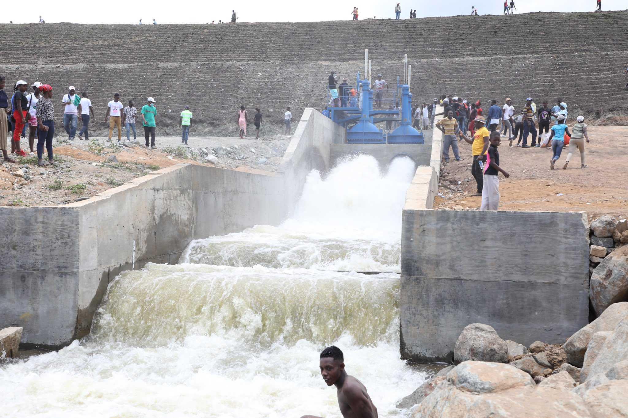 Inauguration du barrage de Marion : un projet qui nourrit de grandes ambitions