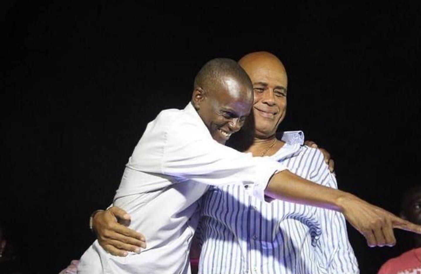 Pour Michel Martelly, l'assassinat de Jovenel Moïse est un coup dur pour la démocratie
